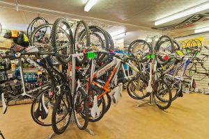 Sherwood Pines Cycles Shop Floor